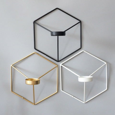 HEXI WALL CANDLE HOLDER