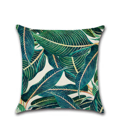 TROPICAL VIBE DECORATIVE PILLOW COVER C.1