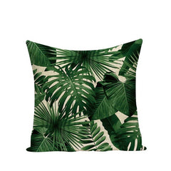 TROPICAL VIBE DECORATIVE PILLOW COVER C.8