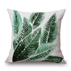 TROPICAL VIBE DECORATIVE PILLOW COVER C.11