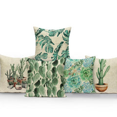 TROPICAL VIBE DECORATIVE PILLOW COVER C.6