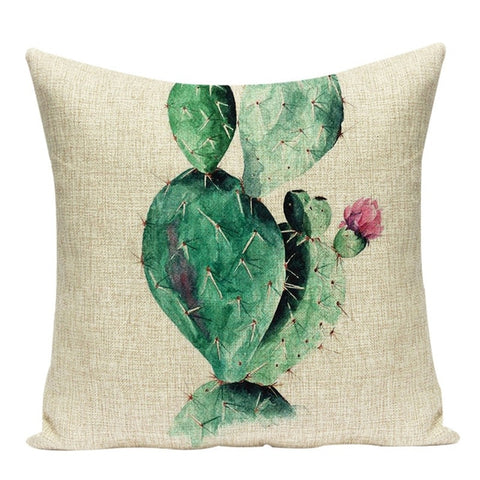 TROPICAL VIBE DECORATIVE PILLOW COVER C.3