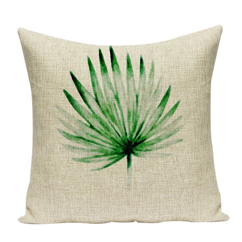 MINIMAL LEAVES DECORATIVE PILLOW