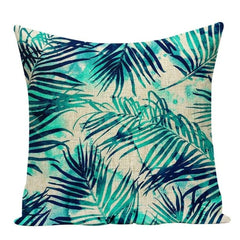 TROPICAL VIBE DECORATIVE PILLOW COVER C.13