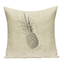 PINEAPPLE DECORATIVE PILLOW COVER