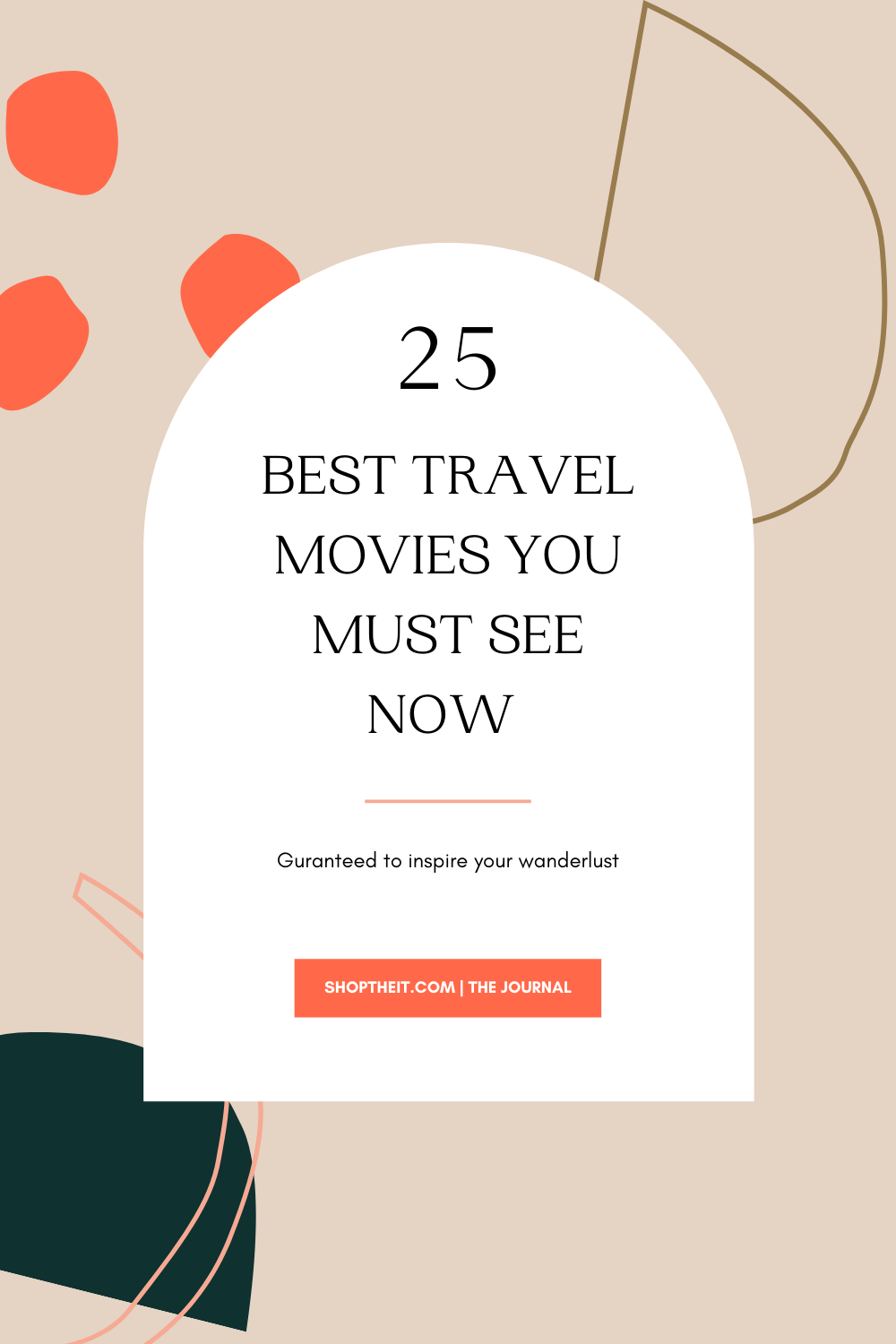 25 Best Travel Movies