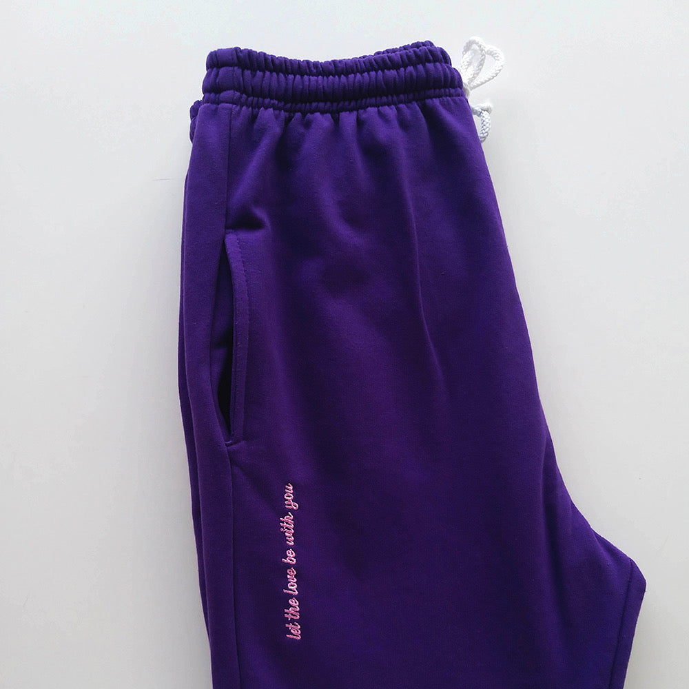 Purple Home Office Pants