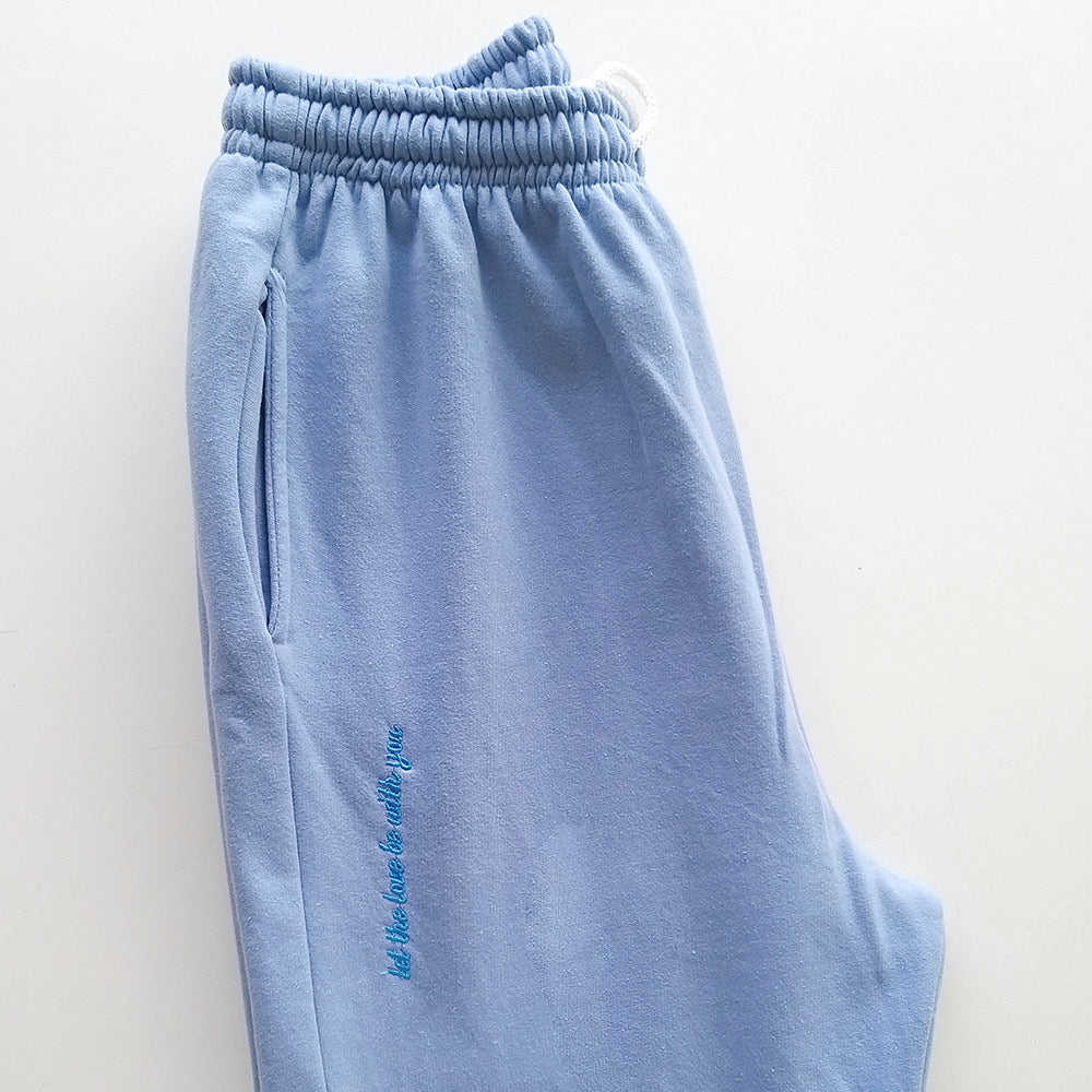 Home Office Baby Blue Pants