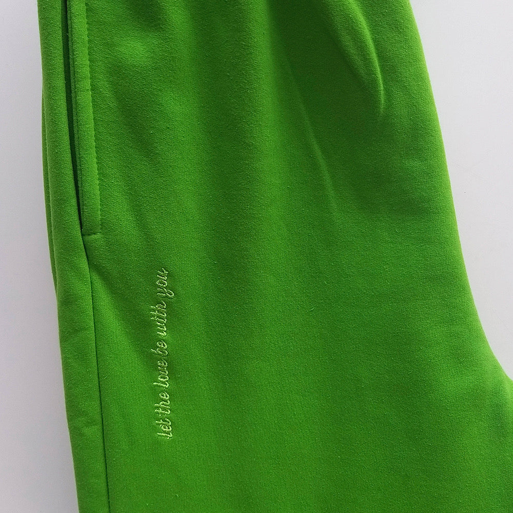 Green Home Office Pants