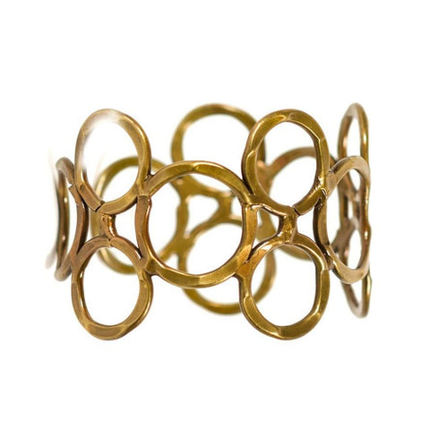 Orbit Cuff - Brass