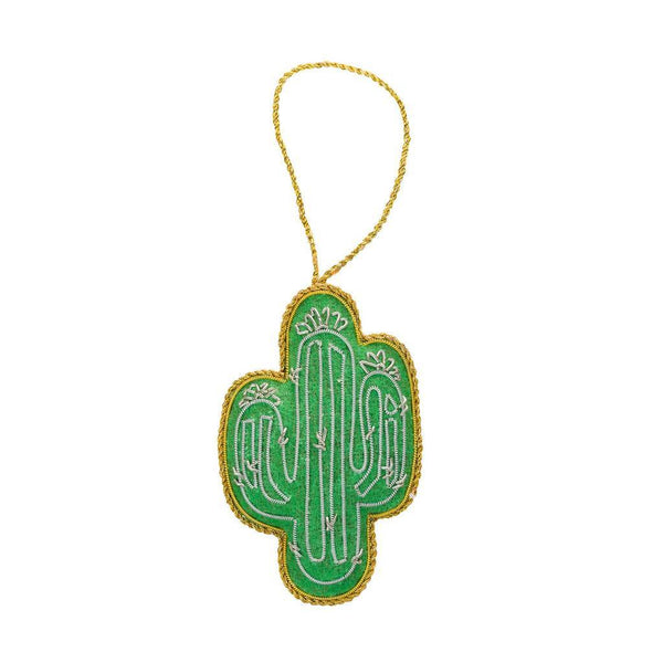 Larissa Plush Ornament - Cactus