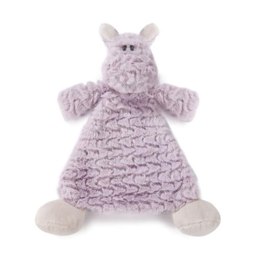 Harlow Hippo Rattle Lovey - Grace & Grits