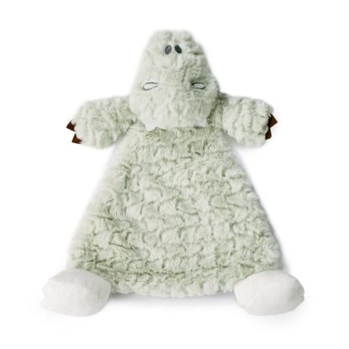 Arnie Alligator Rattle Lovey - Grace & Grits