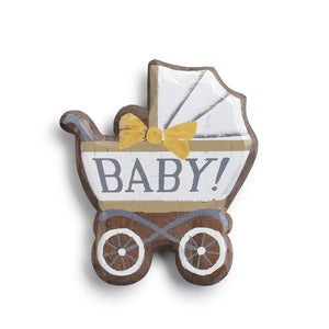 Baby Carriage Magnetic Token