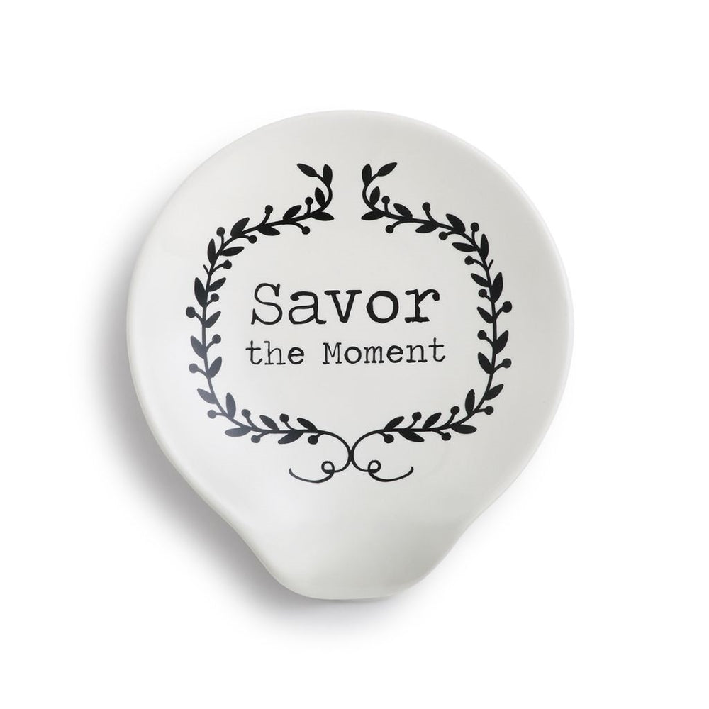 Savor the Moment Spoon Rest - Grace & Grits