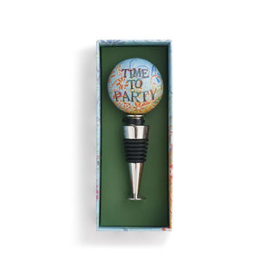 Time to Party Bottle Stopper