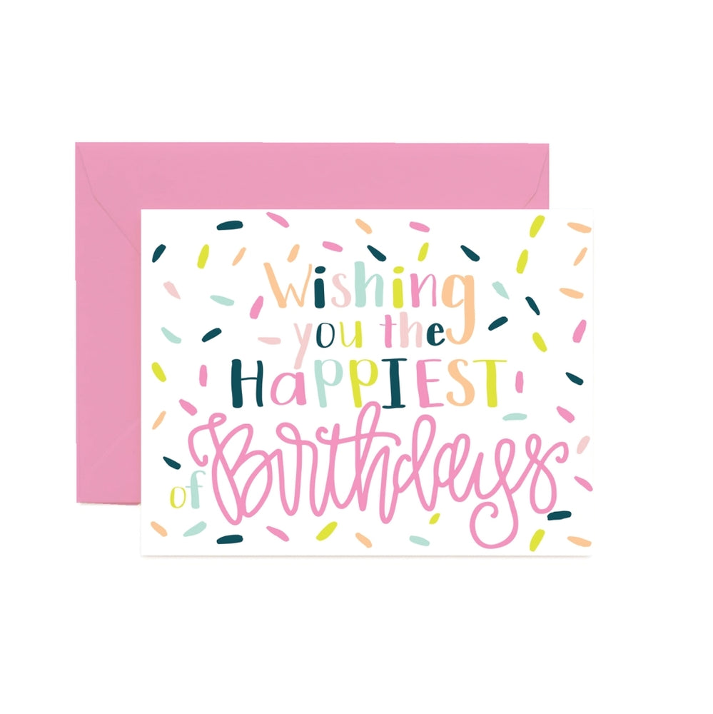 Happiest of Birthdays Greeting Card - Grace & Grits