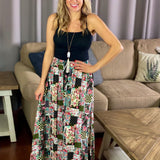 Country Garden Maxi Skirt