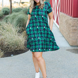 One Lucky Gal Swing Dress