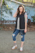 Elegantly Laced Vest