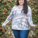 Sky Gazing Long Sleeve Top