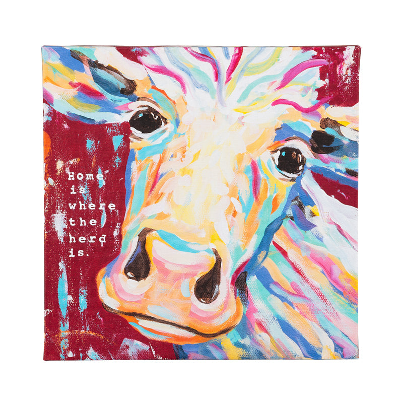 Cow Wall Art - Grace & Grits