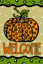 Welcome Pumpkin Garden Flag - Grace & Grits