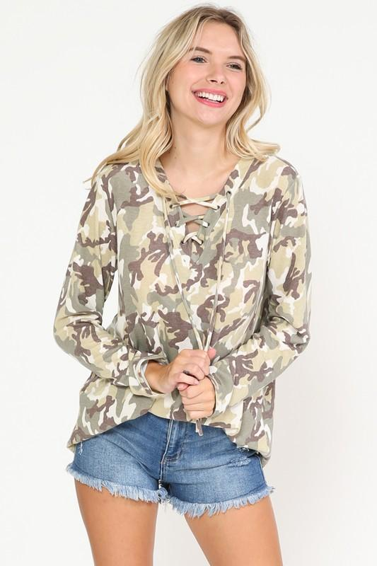 Ready To Lead The Way Long Sleeve Top