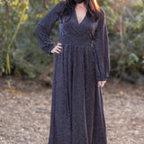 Holiday Glamour  Maxi Dress