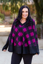 Magnetic Magenta Poncho