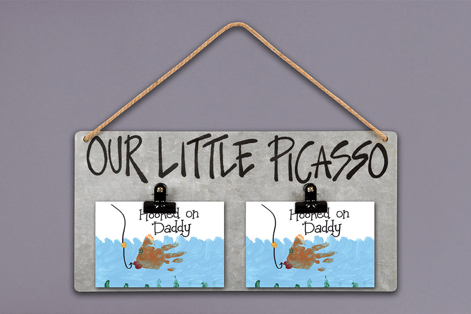 """Little Picasso"" Clip Frame"
