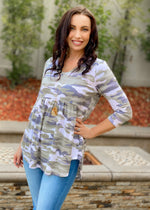 On The Hunt Babydoll Tunic