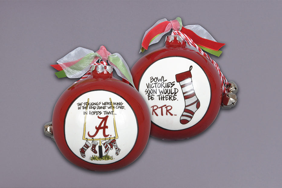 Alabama Stockings Ornament