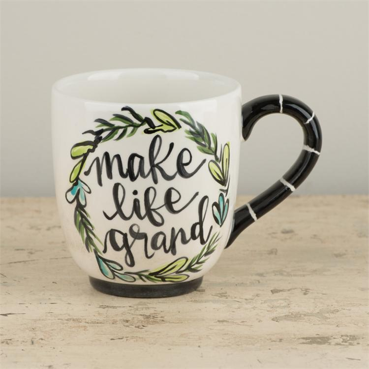 Grandparents Make Life Grand Mug - Grace & Grits