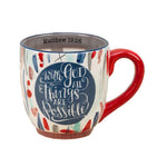 With God, All Things Are Possible Coffee Mug - Grace & Grits