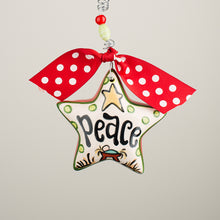 "Load image into Gallery viewer, ""Peace"" Ornament"