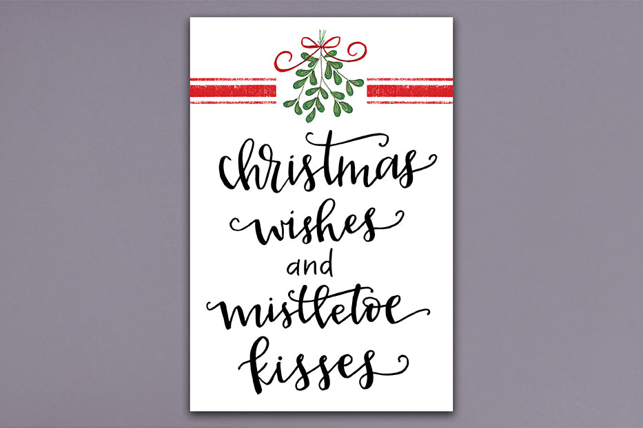 Christmas Wishes Garden Flag - Grace & Grits