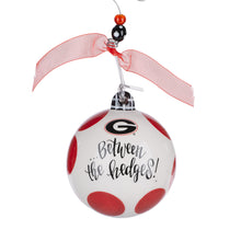 "Load image into Gallery viewer, ""Between the Hedges"" UGA Ornament"