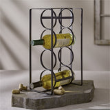 4 Bottle Wine Rack - Grace & Grits