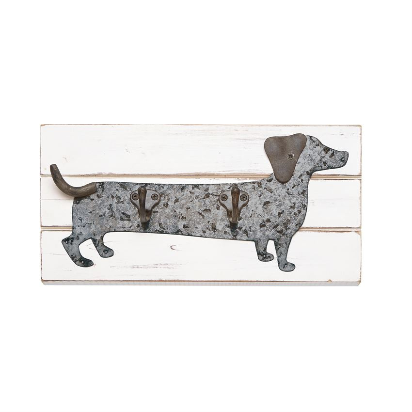 Dachshund Wall Hook Plaque - Grace & Grits