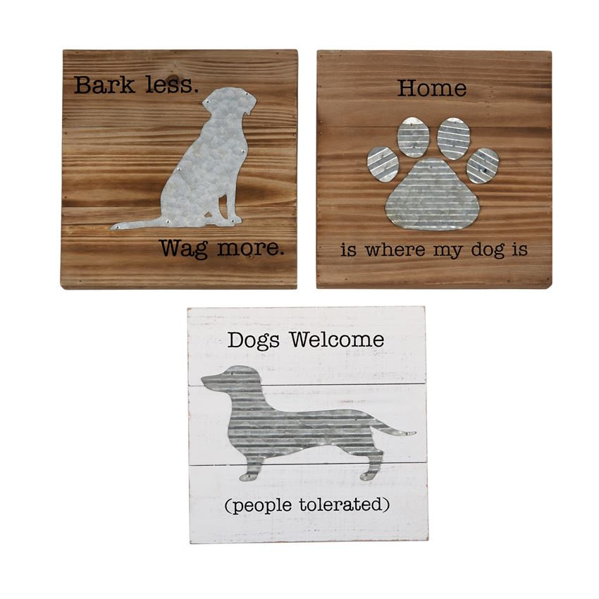 Assorted Dog Plaques
