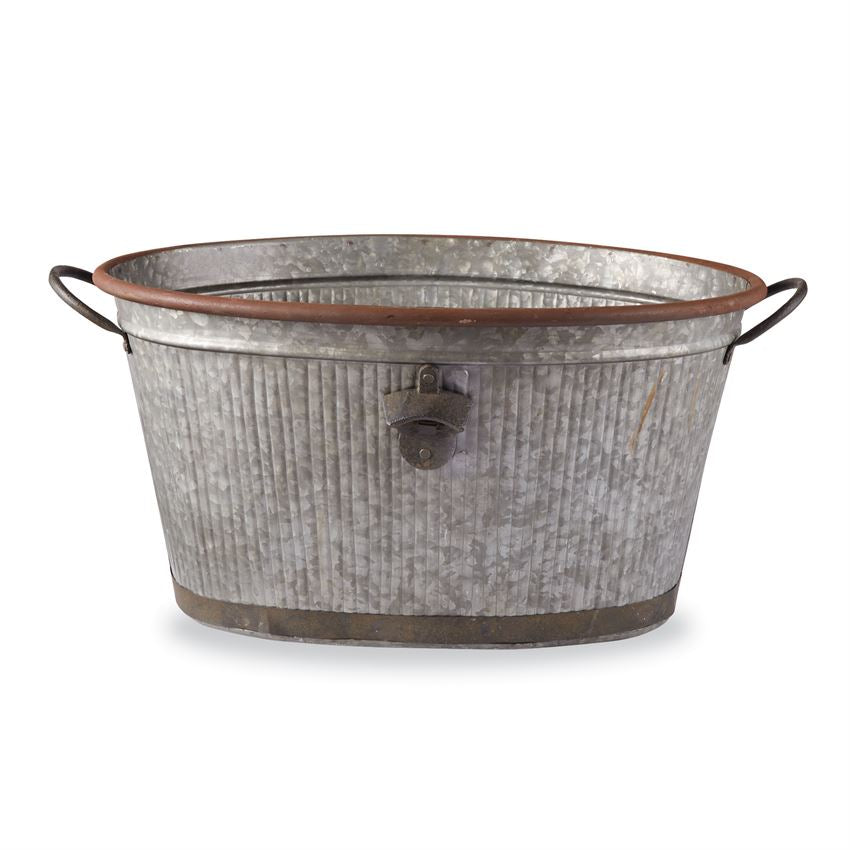 Galvanized Party Tub - Grace & Grits