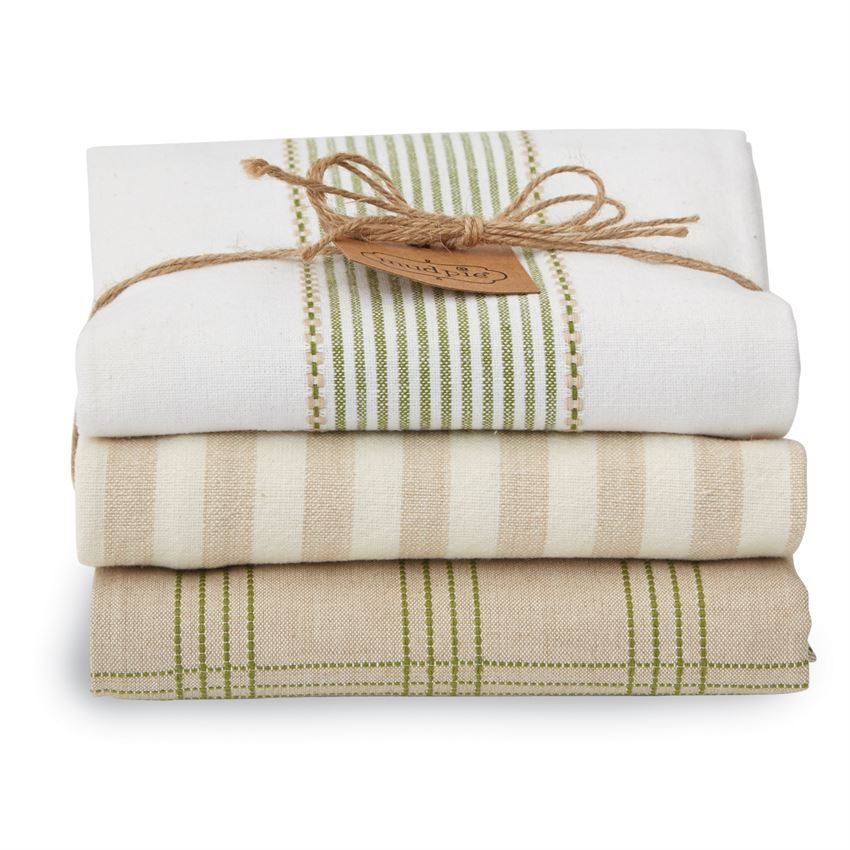Stacked Kitchen Towel Set - Grace & Grits