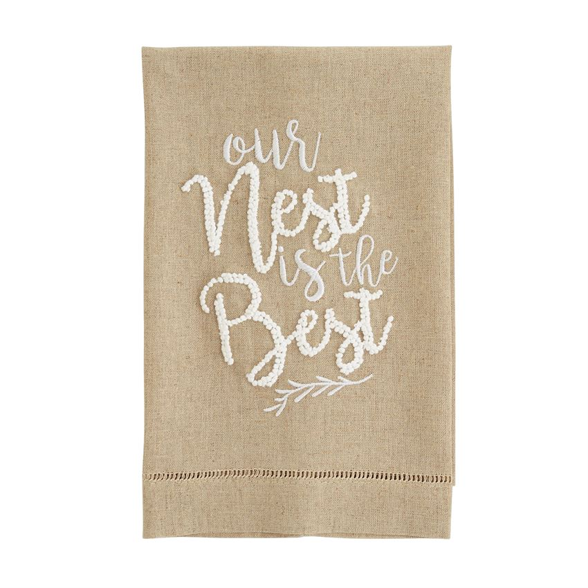 Our Nest is the Best Tea Towel