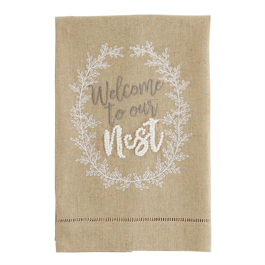 Welcome to Our Nest Tea Towel - Grace & Grits