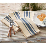 Blue Grainsack Napkin Set