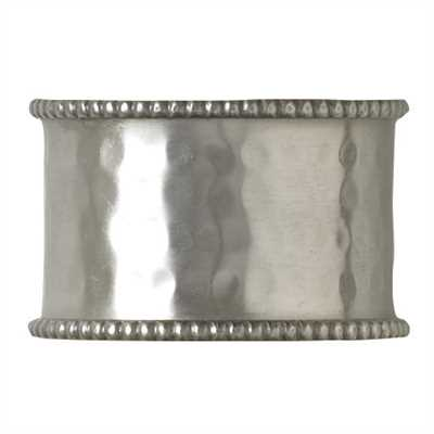 Hammered Cuff Napkin Ring - Grace & Grits