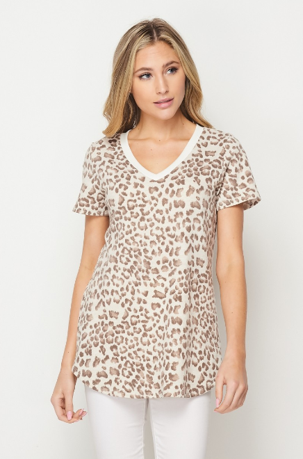 Oats and Honey Short Sleeve Top