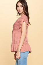 How Sweet It Is Baby Doll Tunic