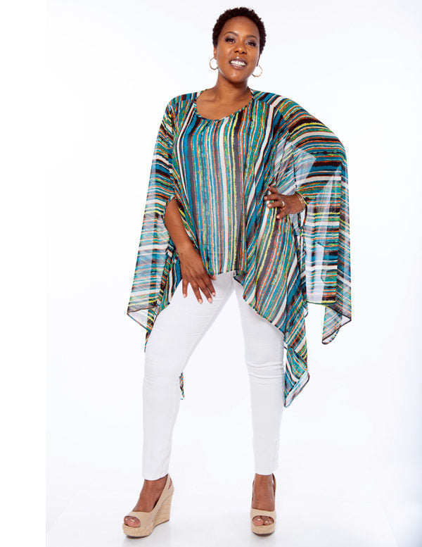 Shawl Dawls One Size Cape - Grace & Grits